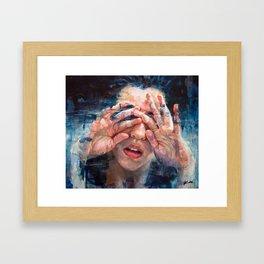 Sticky fingers Framed Art Print