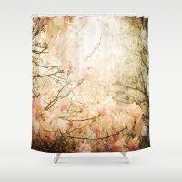 skyfall Shower Curtains featuring Skyfall by Jenndalyn
