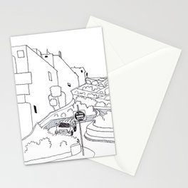 Lombard Hill in San Francisco Stationery Cards