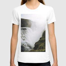 Gullfoss waterfall in Iceland - Landscape Photography T-shirt