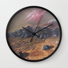 Sands of Mars Wall Clock