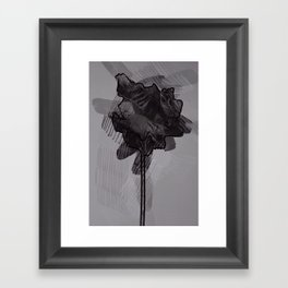 leaf ten Framed Art Print