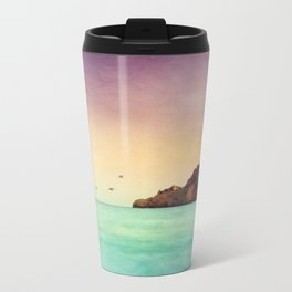 Glowing Mediterranean Travel Mug