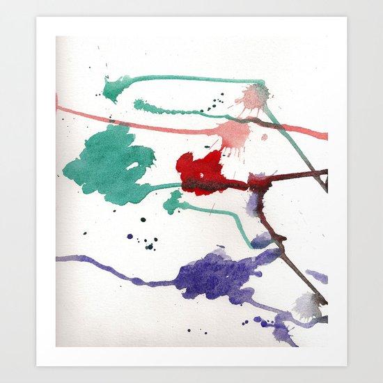 rgb Art Print