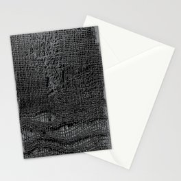 Old Fabric Fibers-Distressed-Torn Cloth-Ripped Stationery Cards