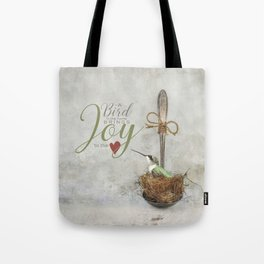 A Spoonful of Hummingbird Tote Bag