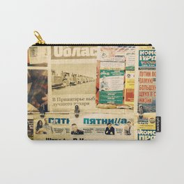 Russian newspapers Carry-All Pouch