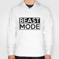 depeche mode Hoodies featuring BEAST MODE by Adel
