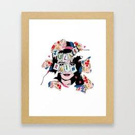 JuLiE RuiN!!! Framed Art Print