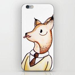 Master Fox iPhone Skin