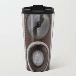 Vintage Duaflex Camera Travel Mug