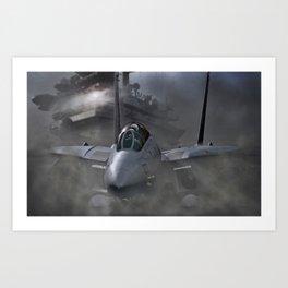 Carrier Breath Art Print