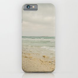 Es Trenc, Mallorca- Travel photography - Windy beach days iPhone Case