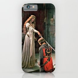 Edmund Blair Leighton - Accolade - Edmund Blair Leighton iPhone Case