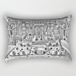 Guppy cockpit Rectangular Pillow