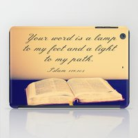 bible verse iPad Cases featuring Bible  by Jo Bekah Photography