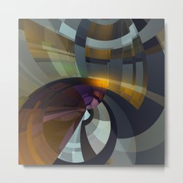 Abstract Composition 26 Metal Print