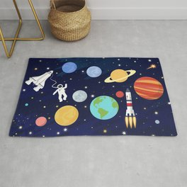 In space Rug