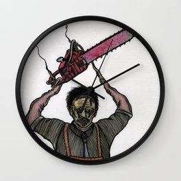 Leatherface Wall Clock
