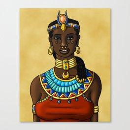 Hathor Smiles Canvas Print
