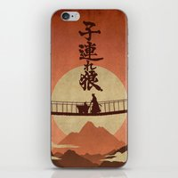 okami iPhone & iPod Skins featuring Kozure Okami by WITHSTAND