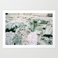 Blue Basin Ghost  Art Print