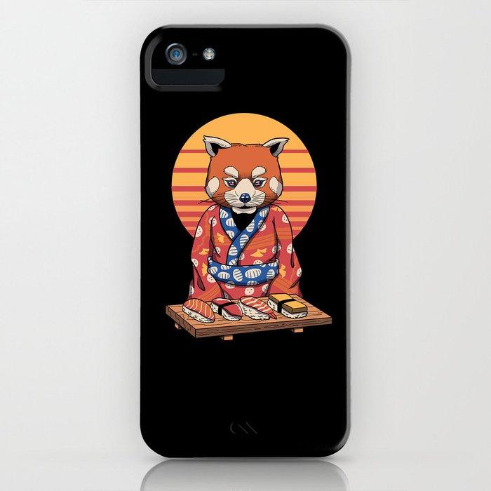 Rad Panda iPhone Case