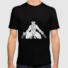 Weapon X Mens Fitted Tee SMALL Black
