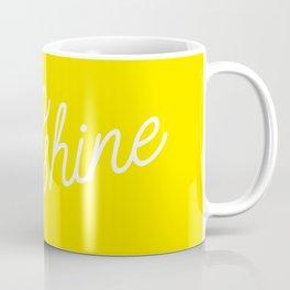Hello Sunshine Script Coffee Mug