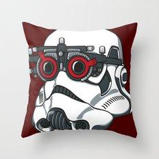 Stormtrooper Eyetest Throw Pillow
