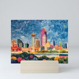 San Antonio Celebration Mini Art Print