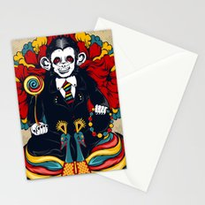 Buddha Monkey Stationery Cards