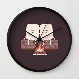 I Melt With You Wall Clock