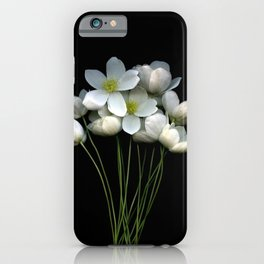 Light Into Dark iPhone Case
