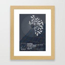 OM05: Off Modern Framed Art Print