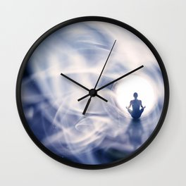 Out Of This World Meditation Wall Clock