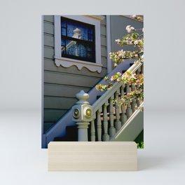 Upstairs Reflected, Downstairs Mini Art Print