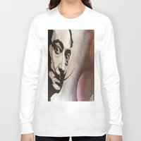salvador dali Long Sleeve T-shirts featuring salvador dali by Joedunnz