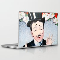 bonjour Laptop & iPad Skins featuring Bonjour by TheWildPlum