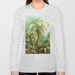 Vintage Tropical #society6 #buyart #painting Long Sleeve T-shirt