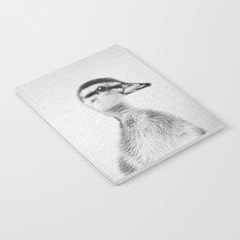 Duckling - Black & White Notebook