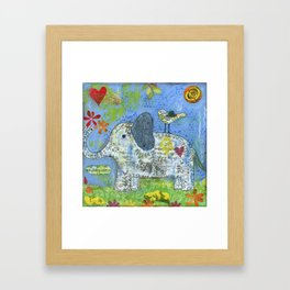 Always Here Framed Art Print