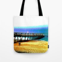 postcard Tote Bags featuring Postcard by Shemaine