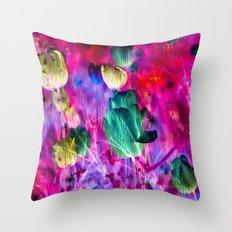 TULIPS of FANTASY Throw Pillow