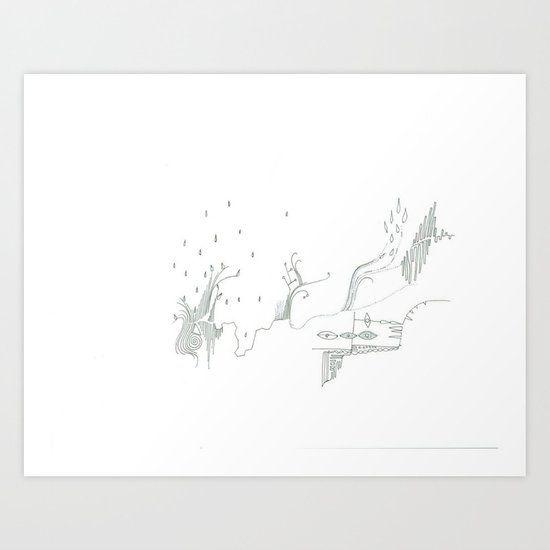 paper_7 Art Print