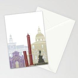 Bologna skyline poster Stationery Cards