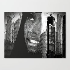 Daydreaming In The City Canvas Print
