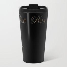Cat Power Travel Mug