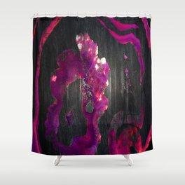 Agate Lava Flow Shower Curtain