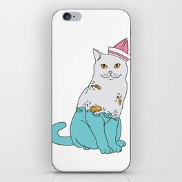 Inside Kitty iPhone Skin